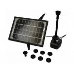 Fontano siurblys su saulės baterija 5W+LED