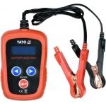 Skaitmeninis akumuliatoriaus testeris 12V (YT-83113)