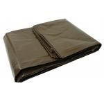 Tentas neperšlampamas 3x3m itin storas, rudos sp. 200g (G70710)