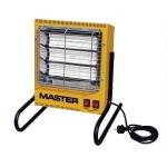 Nešiojamas elektrinis infraraudonųjų spindulių šildytuvas Master TS3A