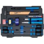 Įrankių dėklas | Plaktukas, replės, atsuktuvų rinkinys | BGS BOXSYS1 ir 2 lagaminui | 12 vnt. (3353)