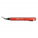 Šerpetų šalinimo nuo briaunų įrankis (YT22360)