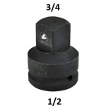"Smūginis adapteris 1/2""(F) - 3/4""(M) (CL203001)"