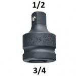 "Smūginis adapteris 3/4""(F) - 1/2""(M) (CL202701)"