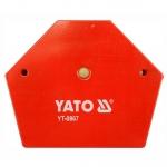 Suvirinimo kampas magnetinis 111x136x24mm (YT0867)