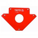 Suvirinimo kampas magnetinis 122x190x25mm (YT0865)